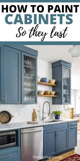how should painted cabinets last how to paint cabinets the right way diy kitchen cabinets