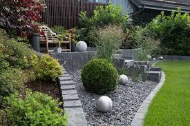 gartengestaltung mit steinen und grsern gartengestaltungsideen steingarten anlegen mit passender