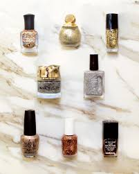 give the gift of glitter nail polish vogue