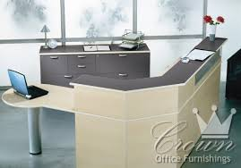 Reception Desk Height by Transitional Reception Crown Office Furniture Tulsa Oklahoma