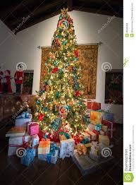 presents holiday christmas tree colors stock photo image 48498436