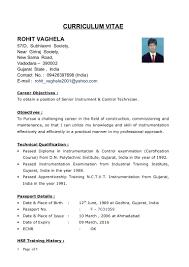 sample resume for teachers in word format instrumentation engineer sample resume sioncoltd com ideas collection instrumentation engineer sample resume in service