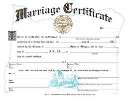 catholic marriage certificate 26 images of common marriage certificate template boatsee