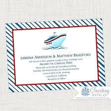 cruise wedding invitations stunning cruise ship wedding invitations iloveprojection