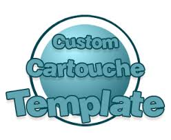 custom cartouche template by tfmcosmetics on deviantart