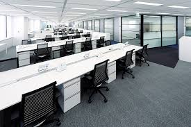 The Open Table Is The Open Office Plan Working Office Layouts And Productivity