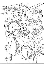 rapunzel painting room walls coloring pages coloring pages