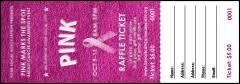 valentine raffle tickets breast cancer pink ribbon raffle ticket