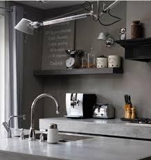 cuisine mur et gris la cuisine couleur taupe on l adore deco cool