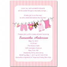 baby shower for girl pink children garments baby girl shower invitations bs052