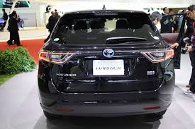 lexus harrier 2016 toyota harrier rear at 2013 tokyo motor show indian autos blog