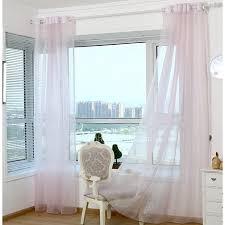 light pink sheer curtains elegant pink color organza patio door sheer curtain