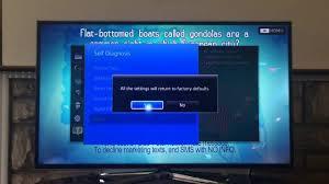 tv l reset how to reset smart tv 2014 easliy youtube