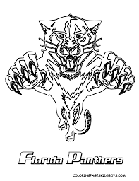 coloring pages carolina panthers coloring home