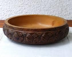 wood bowls etsy