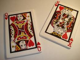 king and queen of hearts card tattoo 1000 geometric tattoos ideas
