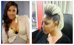 Naigerian Actresses Hairstyles | nigerian celebrities which choose weird hairstyle information nigeria