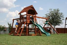 Backyard Playground Slides Playsets And Swingsets We Sell Install And Move In San Diego