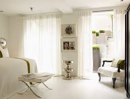 Smocked Drapes White Smocked Curtains Bedroom Contemporary With White Wall
