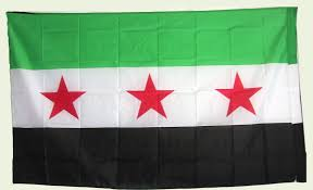 Flag That Is Green White And Red Free Syria Flag Linux Beach