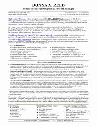 product development manager resume sample project manager resume templates elegant download technical