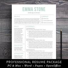 buy resume template easy resume template free 24hr flash now buy 1 get 1 free with
