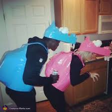 hungry hungry hippos couples costume photo 2 5