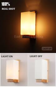 bedside wall mounted reading lamps wall lamps for bedroom modern nordic transparent glass wall lamp