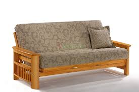 Sofa Bed Furniture Night And Day Portofino Futon Sofabed Honey Oak Natural Rosewood Teak