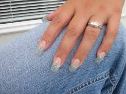 acrylic nails with glitter u2013 slybury com