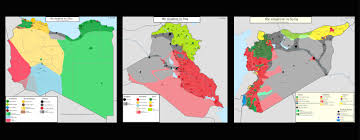 Syria Situation Map by Crowdsourcing Maps Of Isis And Other Middle East Conflicts