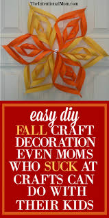 easy diy fall craft decoration for moms who at crafts