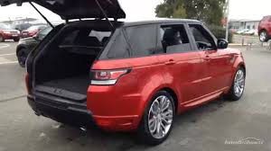 red range rover land rover range rover sport sdv6 autobiography dynamic red 2015