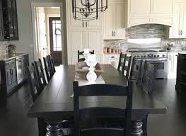 unique black and white dining room sets grey christmas the table