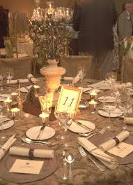 Wedding Table Themes Castle Theme Wedding Table Decorations