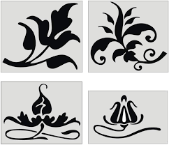 ornamental design elements patterns and motifs 1