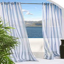 Blue Sheer Curtain Outdoor Sheer Curtains Blue Outdoor Sheer Curtains Bedbathhome