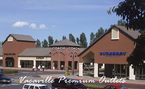 vacaville outlets map vacaville premium outlets factory outlet shopping directory