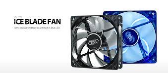 fan that uses ice to cool ice blade fan deepcool case fan