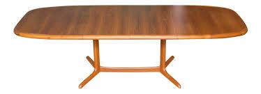 danish modern ansager mobler teak dining table chairish