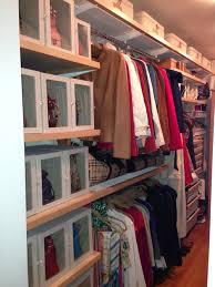 purse storage idea use sweater boxes to display them storage