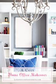 Homeoffice A Cozy Home Office Makeover One Room Challenge Reveal Life On