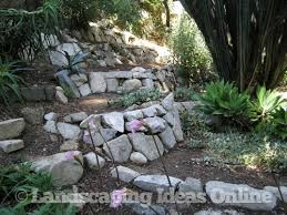 Garden Rock Wall Ideas For Building My Rock Wall In The Flower Garden Garden And