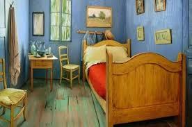 chambre de gogh vous pouvez dormir dans la chambre à coucher de vincent gogh