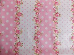 Shabby Chic Rose by Rose Floral Spot100 Cotton Fabric Shabby Chic Vintage Retro P