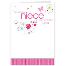 8 best images of birthday cards for niece niece birthday cards