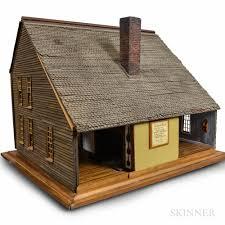 Saltbox Houses Douglas Nvord Saltbox Heritage Dollhouse Sale Number 3016t Lot