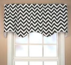 White Window Valance Fascinating Gray And White Chevron Valance 20 Grey And White Chevron Window Valance Scallop Valance Reston Chevron Jpg
