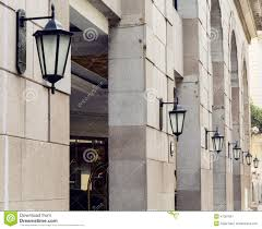 Decorative Wall Lights For Homes by Outdoor Street Light Wall Lamp Road Lighting Stock Photo Image