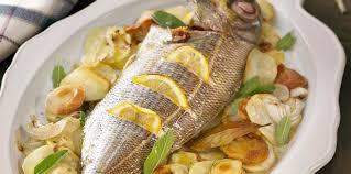 comment cuisiner une daurade daurade au four très facile facile recette sur cuisine actuelle